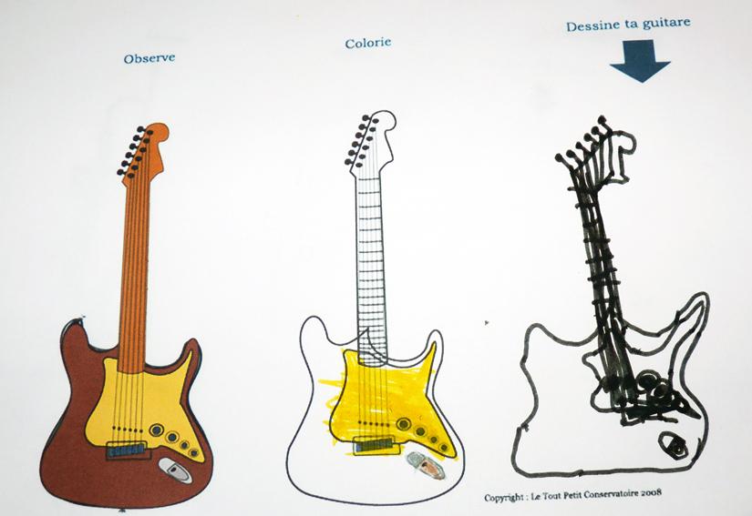 guitare electrique facile