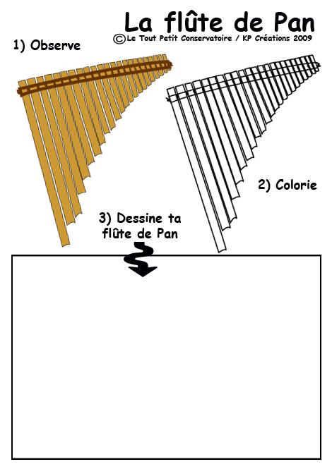 Dessin flute de pan coloriage flute de pan coloriage musique - Dessin de flute ...