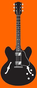guitare electrique eveil musical dessin coloriage de la. Black Bedroom Furniture Sets. Home Design Ideas