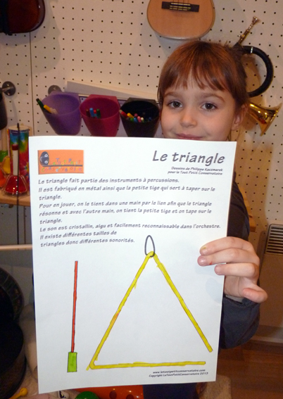 dessin triangle